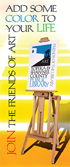 Friend of art brochure cover